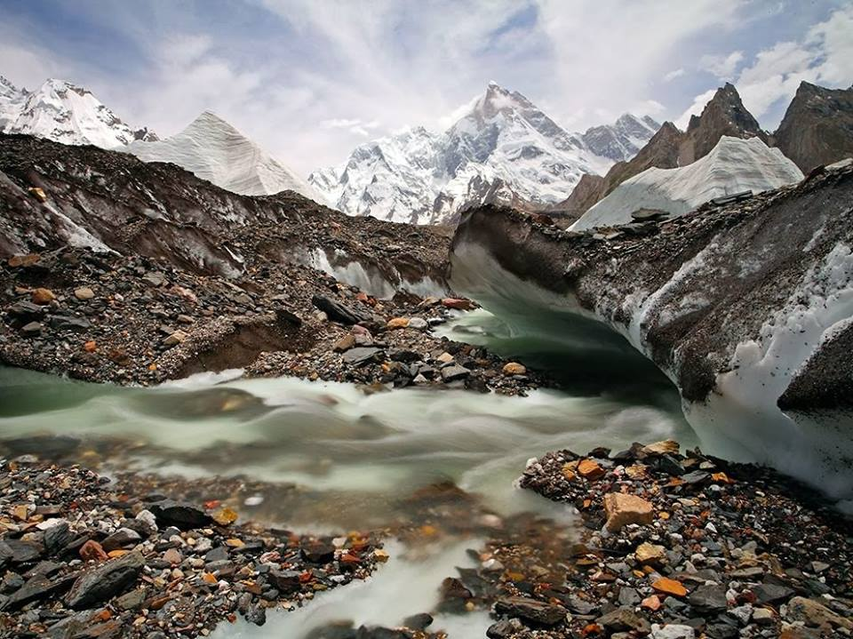 Masherbrum Peak base camp trek
