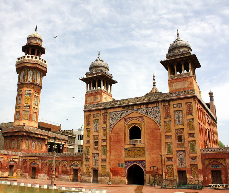 Wazir Khan Mosque in Lahore Pakistan