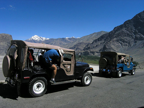 Northern Areas Jeep Safari